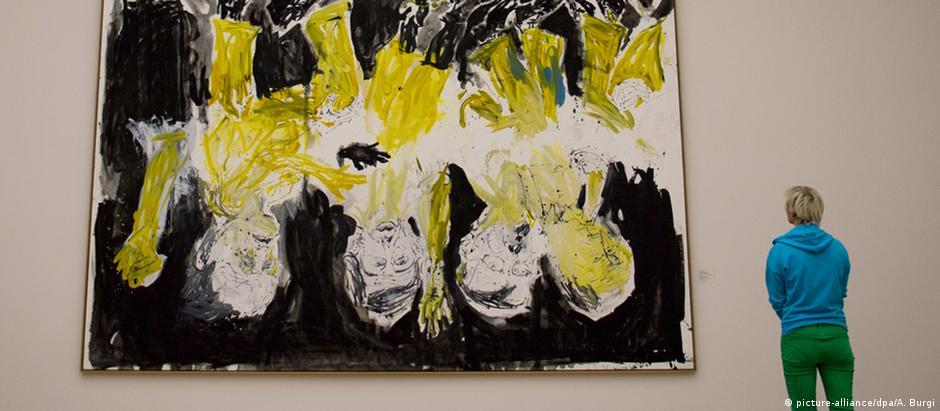 Obra de Georg Baselitz no Albertinum de Dresden