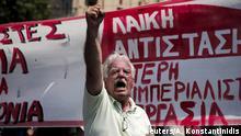 Griechenland Demonstration Streik Sparprogramm EU