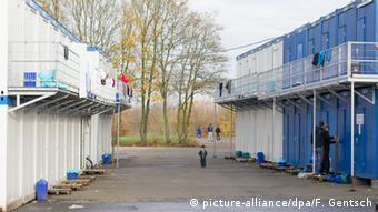 Refugee accommodation in Germany Photo: Friso Gentsch/dpa +++(c) dpa - Bildfunk+++
