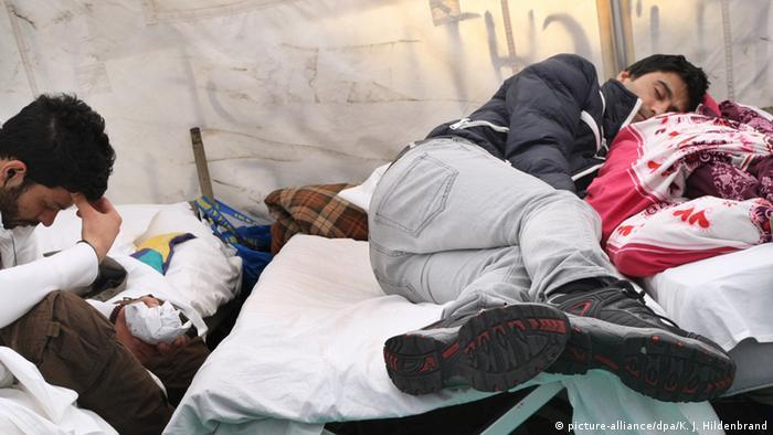 Bildergalerie Flüchtlingsunterbringung in Deutschland (picture-alliance/dpa/K. J. Hildenbrand)
