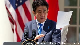 USA, Shinzo Abe besucht die USA