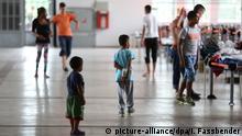 Bildergalerie Flüchtlingsunterbringung in Deutschland