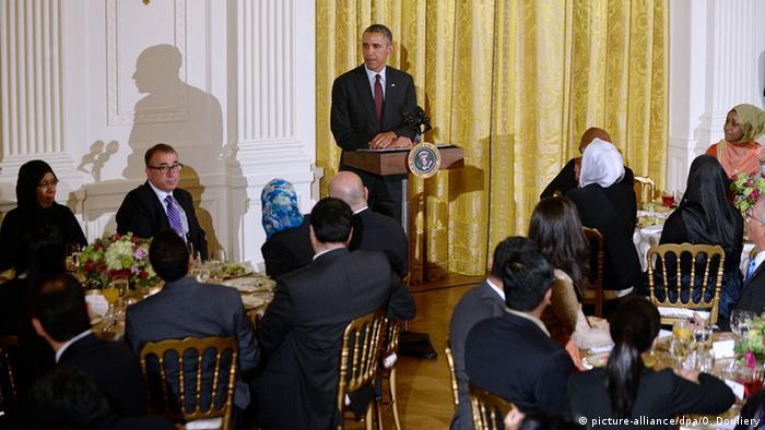 USA, Barack Obama beim Iftar dinner