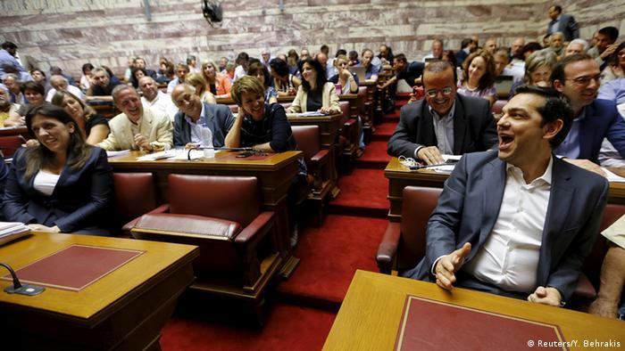 Fraktionssitzung von Syriza