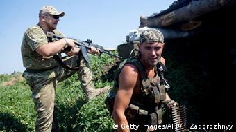 Kämpfe in der Ostukraine ARCHIV