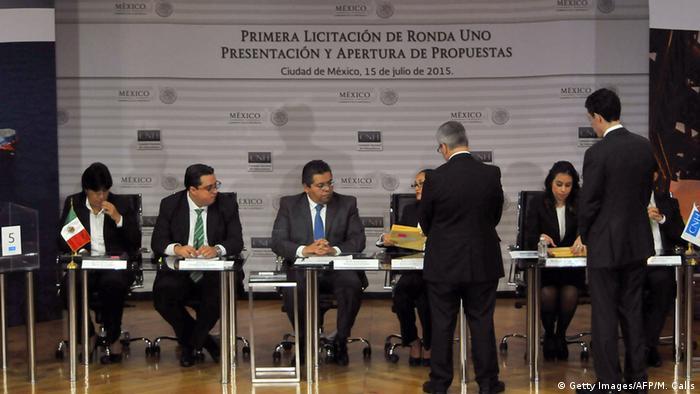 Erste Öl-Auktion in Mexiko