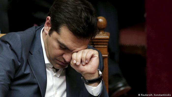 Griechenland Parlament Alexis Tsipras (Reuters/A. Konstantinidis)