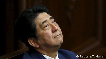 Japan Parlament Abstimmung Sicherheitsgesetz