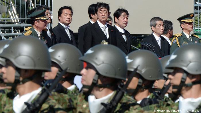 Japan Militär Soldaten Armee Shinzo Abe