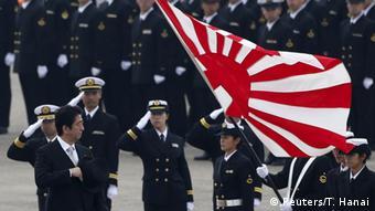 Japan Militär Soldaten Shinzo Abe