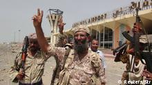 Jemen Kämpfe um Flughafen von Aden