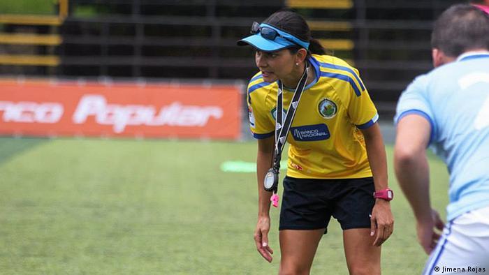 Jimena Rojas Fußball Trainerin (Jimena Rojas)