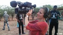Dreharbeiten im Kongo für Africa on the move