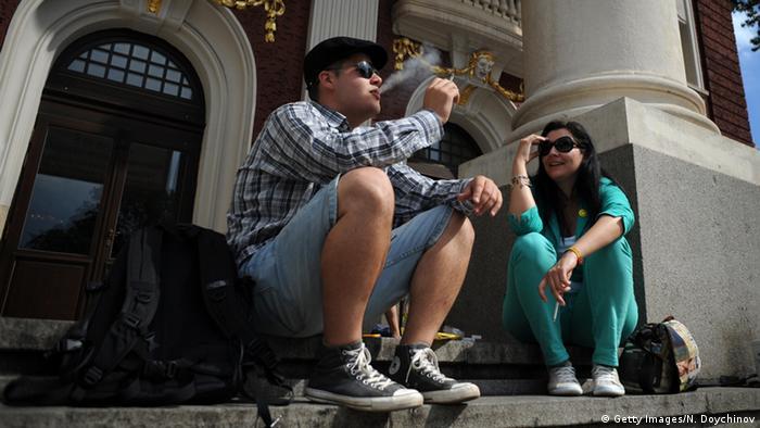 WHO Bericht Raucher Bulgarien
