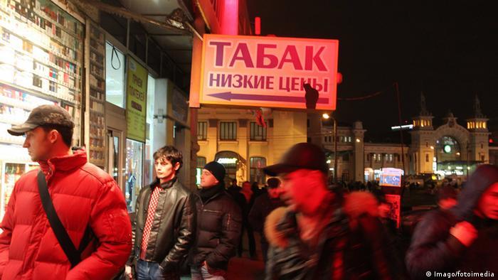 WHO Bericht Raucher Weißrussland