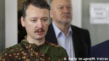Igor Strelkov Strelkow Rebellen Militärchef Donetsk Ukraine Russland Konflikt