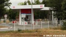 Ukraine Kiew AMIC-Tankstelle