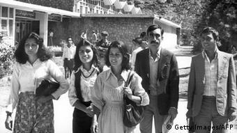 Eine Universität in Afghanistan Anfang der 80er Jahre. (Foto: AFP)