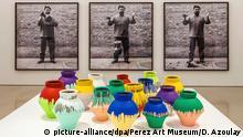Miami Perez Art Museum Vase zerschmettert