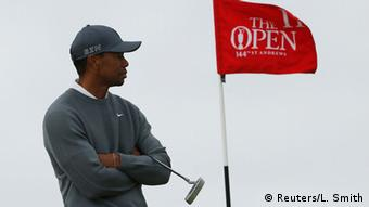 Woods at the Open in 2015