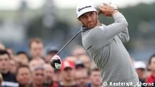 British Open 2015 Dustin Johnson