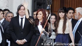 Argentinien Maximo Kirchner Untersuchungen