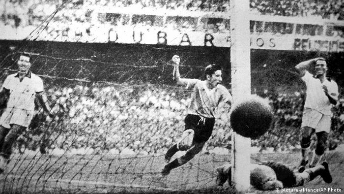 Uruguay Fußball Fußballspieler Alcides Edgardo Ghiggia 1950