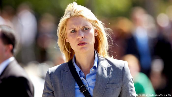 Carrie Mathison, starring Homeland.