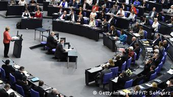Deutschland Bundestag Sondersitzung Griechenland (Getty Images/AFP/T. Schwarz)