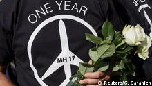 Ukraine Jahrestag Absturz MH17 Gedenken an Opfer in Kiew