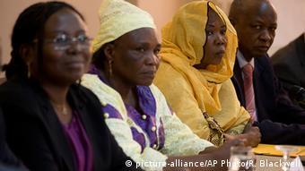 Senegal Prozess gegen Hissene Habré in Dakar Pressekonferenz