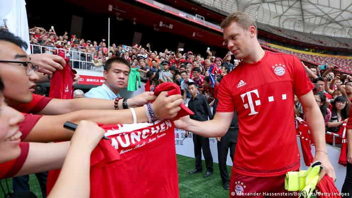 FC Bayern Audi China Summer Tour 2015 - Tag 1
