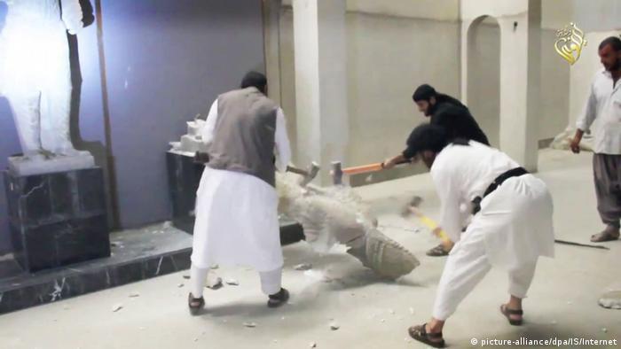 Syrien Kunst Zerstörung