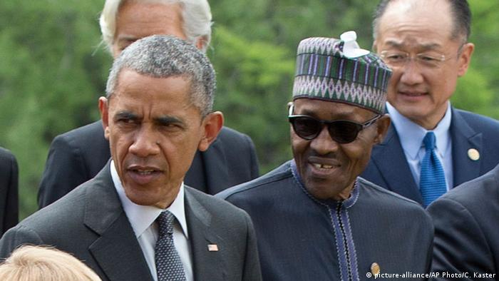 Barack Obama and Muhammadu Buhari