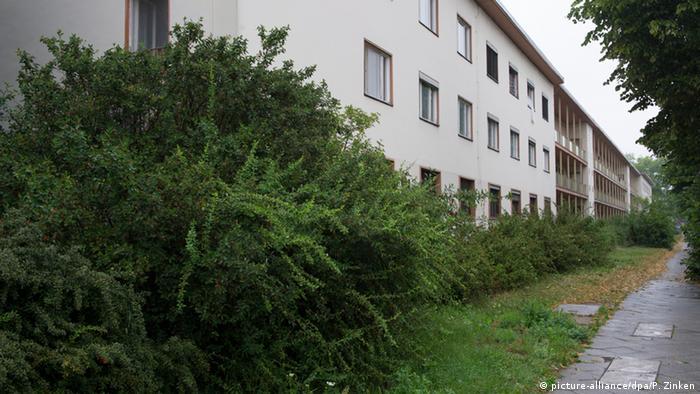 Symbolbild Flüchtlingsunterkunft (picture-alliance/dpa/P. Zinken)