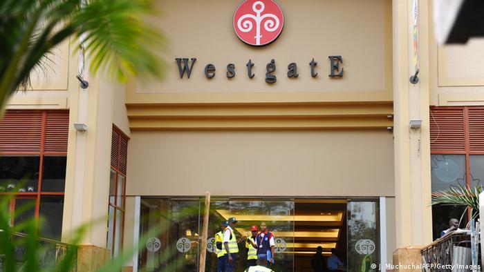 Kenia Wiedereröffnung des Westgate-Einkaufzentrums in Nairobi