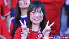 July 18, 2015 - Beijing, People's Republic of China - Chinese Bayern Munchen fan during the match between Bayern Munich vs Valencia CF at National Stadium in Beijing