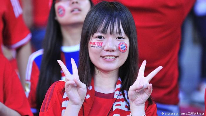 FC Bayern München in China (picture alliance/ZUMA Press)