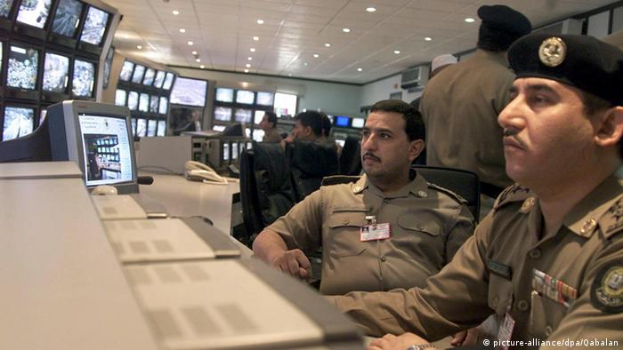 Symbolbild Polizei Saudi Arabien (picture-alliance/dpa/Qabalan)