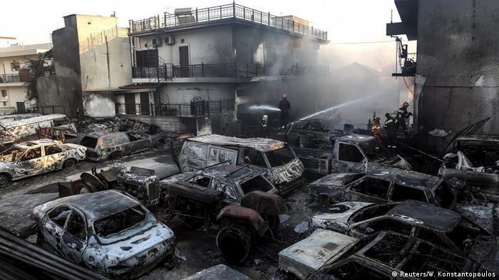 Griechenland Athen Waldbrände (Reuters/W. Konstantopoulos)