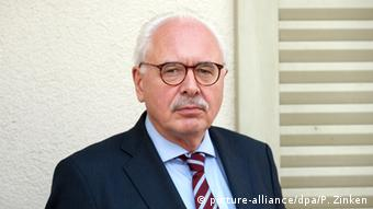 Elmar Giemulla, the lawyer representing the families in Haltern