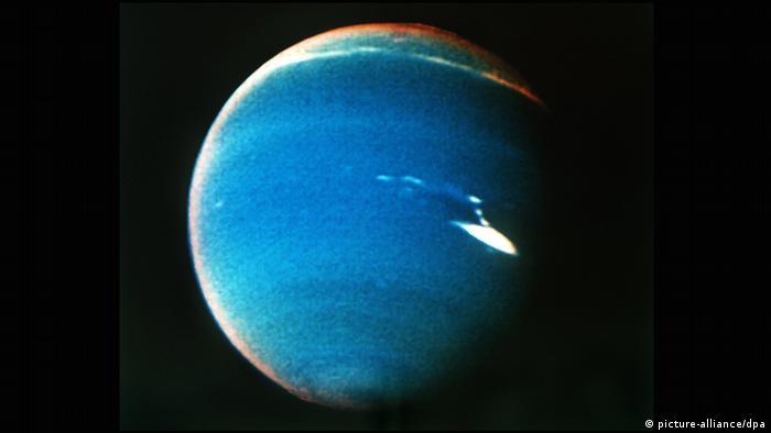 Weltraum Planeten (Bildergalerie) Neptun August 1989
