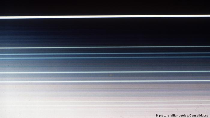 Weltraum Planeten (Bildergalerie) Ringe des Uranus 1986
