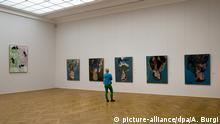 Bilder des Malers und Bildhauers Georg Baselitz im Albertinum in Dresden