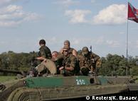 Члени проросійських незаконних збройних формувань у зоні конфлікту на Донбасі (фото з архіву)