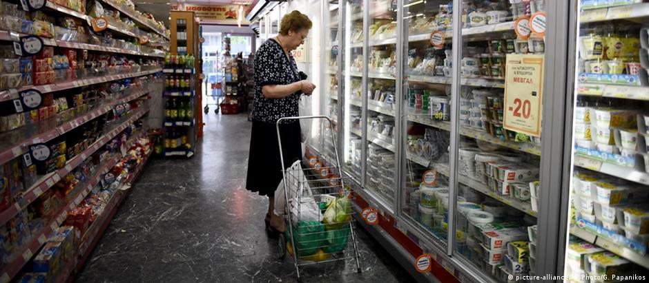 Supermercado em Tessalônica