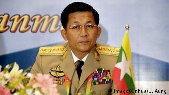 Myanmars Armeechef Min Aung Hlaing