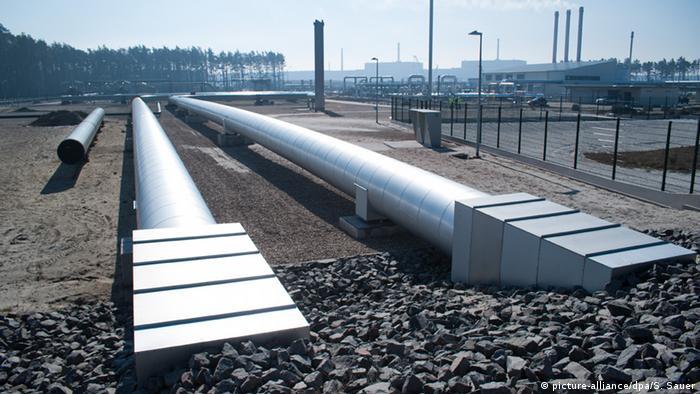 Российский газопровод в Европу