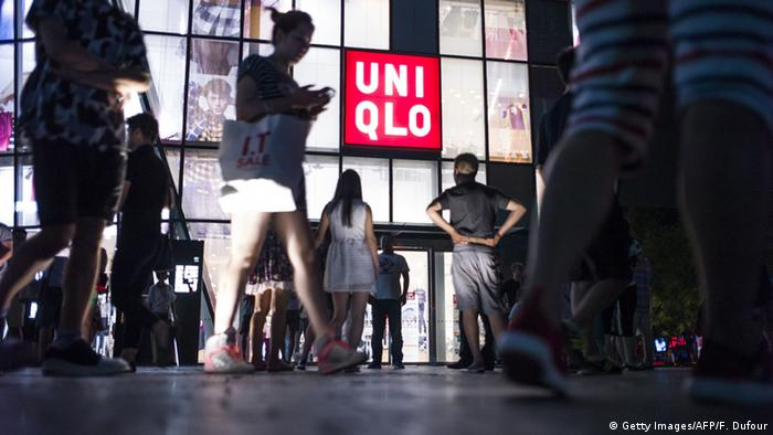 Uniqlo Umkleidekabine Peking Video Sexvideo Touristenattraktion