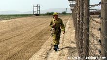 Fotos zum Thema Lage an der Grenze zwischen Tadschikistan und Afghanistan Abschnitt der Grenze Tadschikistan und Afghanistan Bild: Korrespondent in Duschanbe Galim Faskhutdinow im Juli 2015
